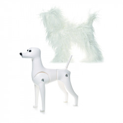 RECORD MODEL DOG - DOG MANNEUIN WITH FUR