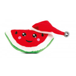 christmas-cat toy watermelon with hat
