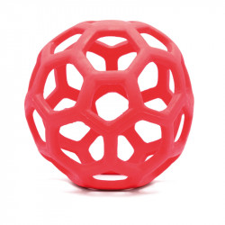 RECORD PLAYER ONE DOG TOY TPR SOFT BALL RED 13,5 CM