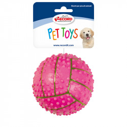 HARD RUBBER TOY - VOLLEYBALL BALL