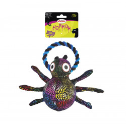 RECORD HORROR SPIDER WITH ROPE 20 CM