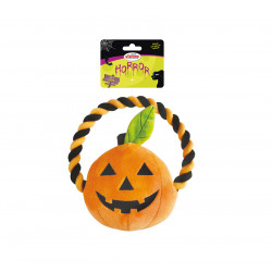 RECORD HORROR PUMPKIN WITH ROPE 20 CM