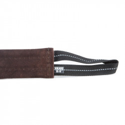 JULIUS K9 TUG LEATHER FLAT, 1 HANDLE 20 CM