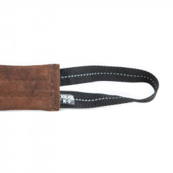JULIUS K9 TUG LEATHER FLAT, 2 HANDLES 30 CM