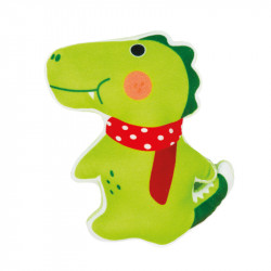 dog toy-alligator