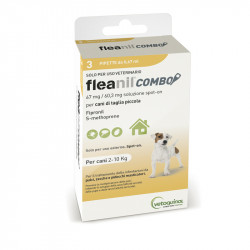 DOGS 2-10 KG, 3 PIPETTES