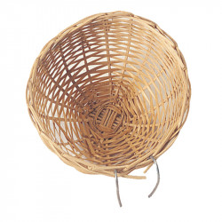 WICKER NEST FOR BIRDS