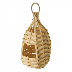 WICKER NEST FOR EXOTIC BIRDS