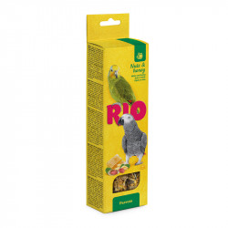 RIO 2 STICKS FOR PARROTS, HONEY AND NUTS 180 G