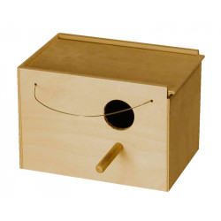 WOODEN NEST FOR CALOPSITE AND BUDGIES