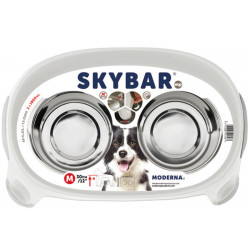 DESIGN-SKY DOUBLE BOWL WITH SUPPORT