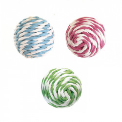 DOUBLE COLOURS PAPER BALLS IN DISPLAY