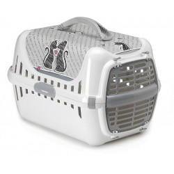 PLASTIC DOOR PET CARRIER