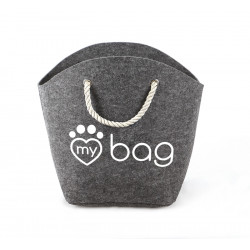 RECORD MY BAG MY BED GREY 52 X 25 X 39 CM